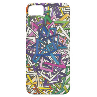 colorful craziness iPhone 5 cover
