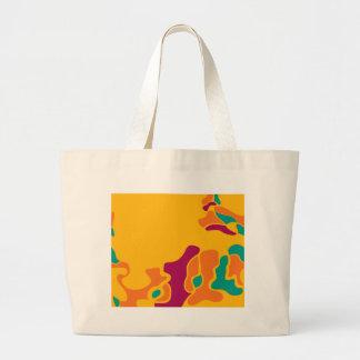 Colorful creativity large tote bag