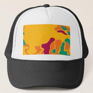 Colorful creativity trucker hat