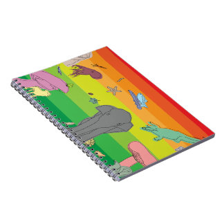 Colorful Creatures Notebooks