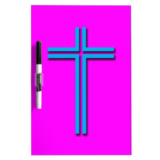 Colorful Cross Dry-Erase Whiteboard