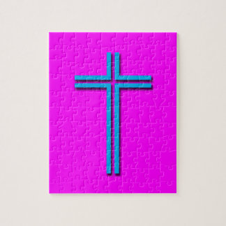 Colorful Cross Jigsaw Puzzle
