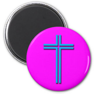 Colorful Cross Magnet