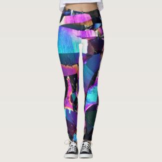 Colorful Crystal Geode Leggings
