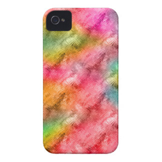 Colorful Crystal Glass Pattern iPhone 4 Cover