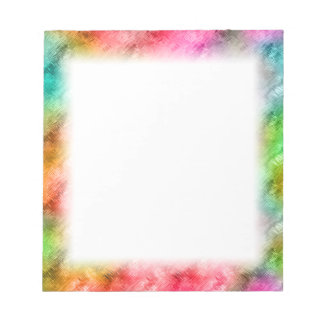 Colorful Crystal Glass Pattern Notepad