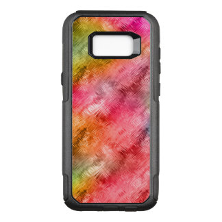 Colorful Crystal Glass Pattern OtterBox Commuter Samsung Galaxy S8+ Case