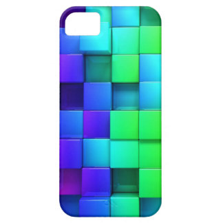 Colorful Cube Pattern iPhone 5 Covers