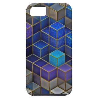 Colorful Cubes Pattern iPhone 5 Cover