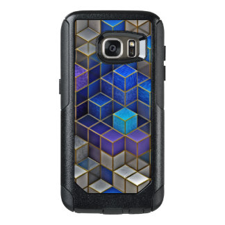 Colorful Cubes Pattern OtterBox Samsung Galaxy S7 Case