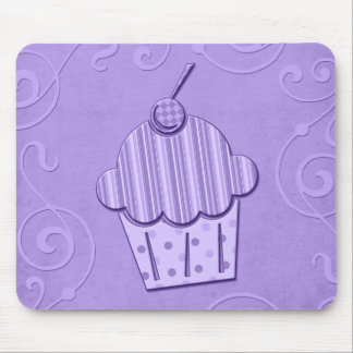 Colorful Cupcake Art Mouse Pad