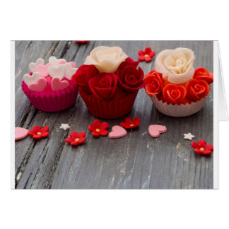 colorful cupcakes card