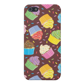 Colorful Cupcakes Case For The iPhone 5
