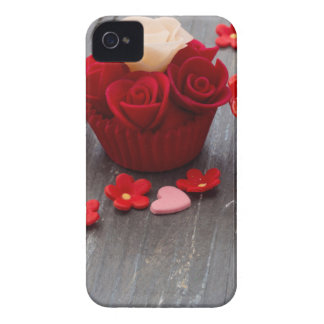 colorful cupcakes Case-Mate iPhone 4 cases