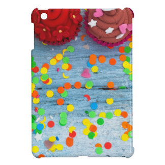 colorful cupcakes iPad mini cover