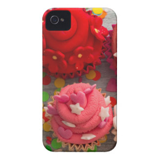 colorful cupcakes iPhone 4 Case-Mate cases