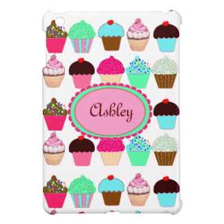 Colorful Cupcakes - Personalized iPad Mini Cover
