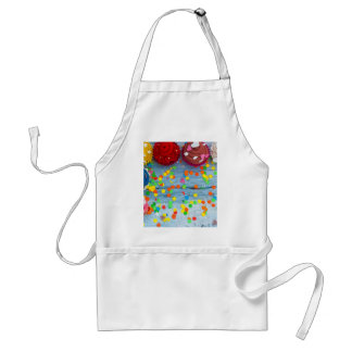 colorful cupcakes standard apron