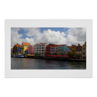 Colorful Curacao Print