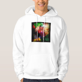 Colorful Currency Collage Hoodie