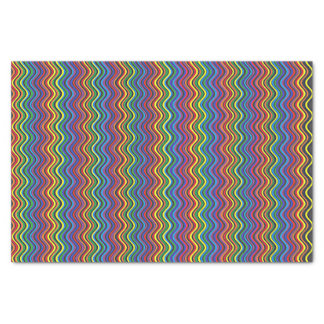 Colorful Curves Tissue Paper