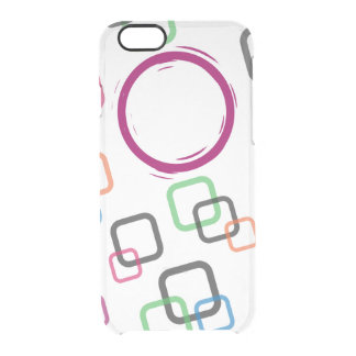Colorful Custom iPhone 6/6s Clear iPhone 6/6S Case