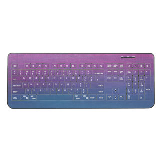 Colorful Custom Wireless Keyboard
