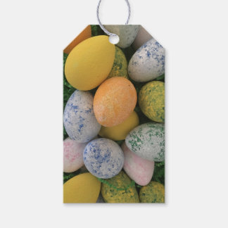 Colorful Customizable Easter Eggs Gift Tags