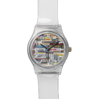 Colorful Customized Athletic Sports Watch
