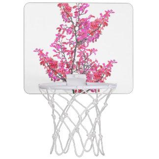 Colorful Cute Floral Design Mini Basketball Hoop