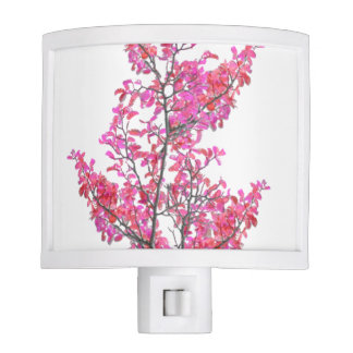 Colorful Cute Floral Design Night Lights