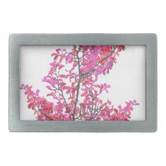 Colorful Cute Floral Design Rectangular Belt Buckles