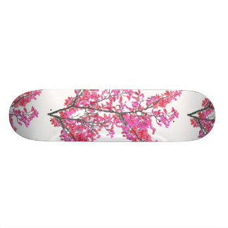 Colorful Cute Floral Design Skate Board Deck