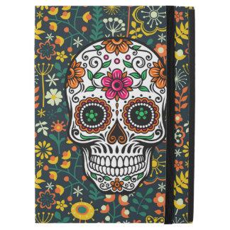 Colorful Cute Floral Sugar Skull Illustration