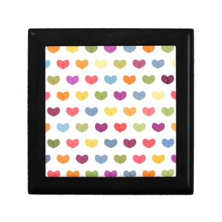 Colorful Cute Hearts VII Gift Box