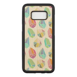 Colorful Cute Modern Crystals Pattern GR3 Carved Samsung Galaxy S8 Case