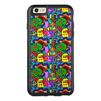Colorful cute monsters fun and unique phone case