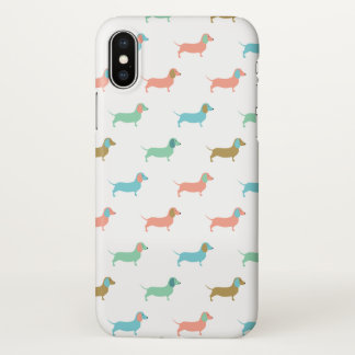 Colorful Dachshunds iPhone X Case