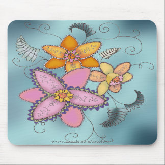 Colorful Daffodils Mousepad