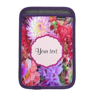 Colorful Dahlias iPad Mini Sleeves