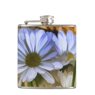 COLORFUL DAISIES FLASK