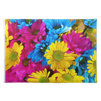 Colorful Daisies Placemats