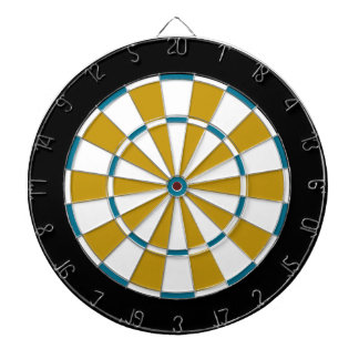 Colorful Dart Board in Jacksonville colors