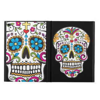 Colorful Day of the Dead Candy Sugar Skull Powis iPad Air 2 Case