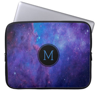 Colorful Deep Space Abstract Background Laptop Sleeve
