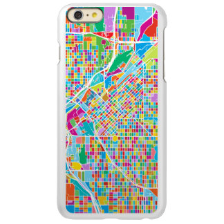 Colorful Denver Map