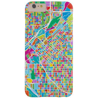 Colorful Denver Map Barely There iPhone 6 Plus Case