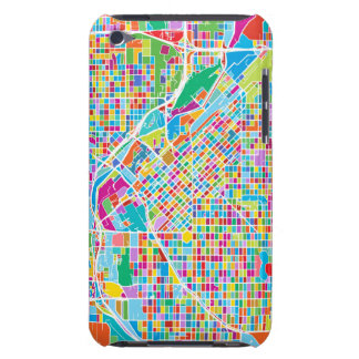 Colorful Denver Map Barely There iPod Cover