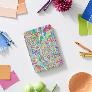 Colorful Denver Map iPad Mini Cover