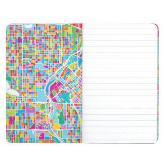 Colorful Denver Map Journal